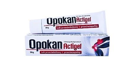 Żel na ból kości Opokan Actigel - opinie o preparacie, który nie działa