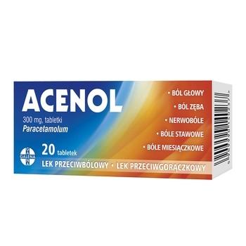 Tabletki na ból kości Acenol - opinie i przestroga przed zakupem