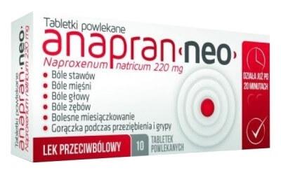 Tabletki na ból kości Anapran Neo - opinie zawiedzionej klientki