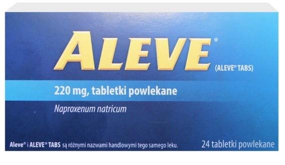 Tabletki Aleve - opinie o leku, który się nie sprawdził