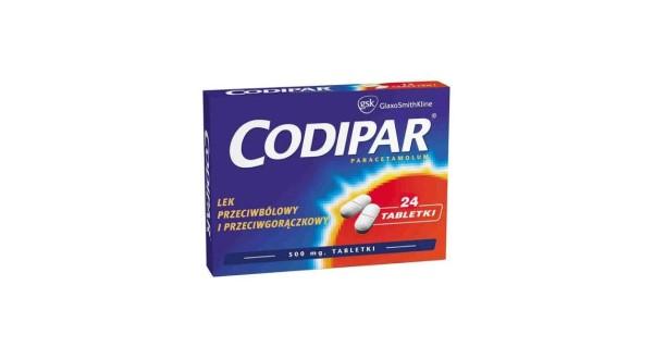 Tabletki Codipar i jej skutki