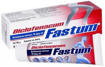 Żel na ból kości Diclofenacum Fastum - opinie o popularnym leku