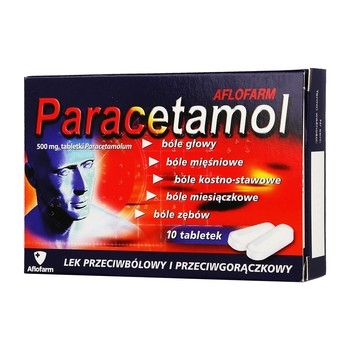 Tabletki na ból kości paracetamol Aflofarm - opinie po ciągłym bólu