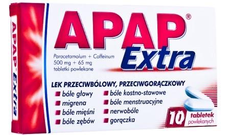 tabletki apap extra - całe opakowanie i opinie po
